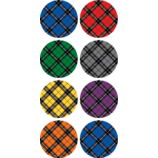 Plaid Mini Stickers