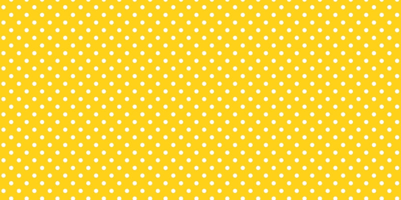 "Fadeless Paper - Dots YEL/WHT 48""x12ft"