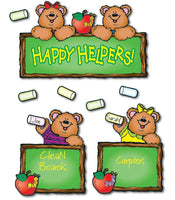 Happy Helper Bears Bulletin Board Set