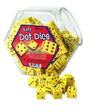 Soft Foam Dot Dice (Individual)