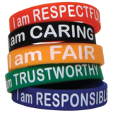 Character Traits Wristbands