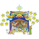 Nativity Scene Bulletin Board