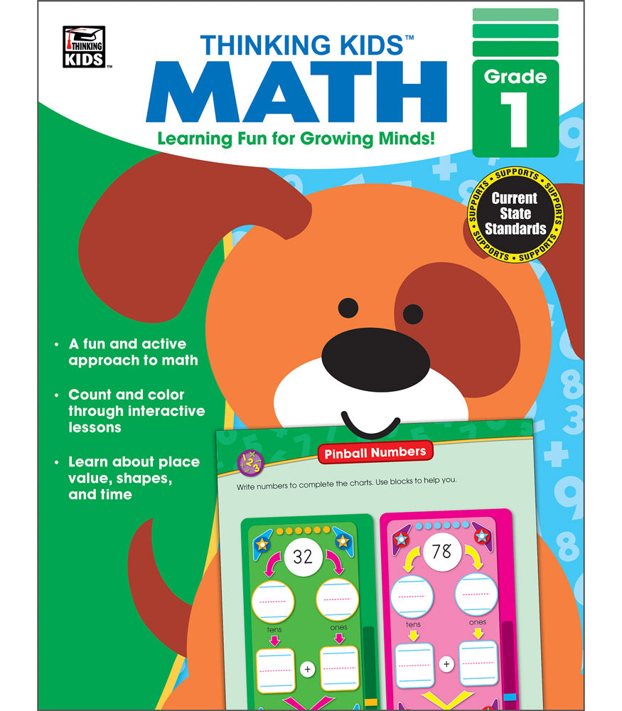 Thinking Kids' Math , Grade 1