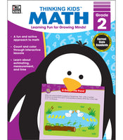 Thinking Kids' Math , Grade 2