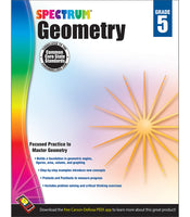 Spectrum Geometry Workbook grd 5