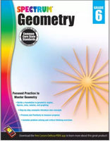 Spectrum Geometry Workbook grd 6