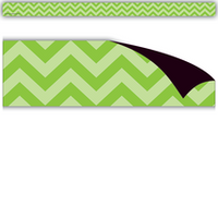 Lime Chevron Magnetic Strips