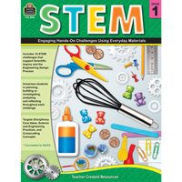 STEM: Engaging Hands-On Challenges Using Everyday Materials Grade 1