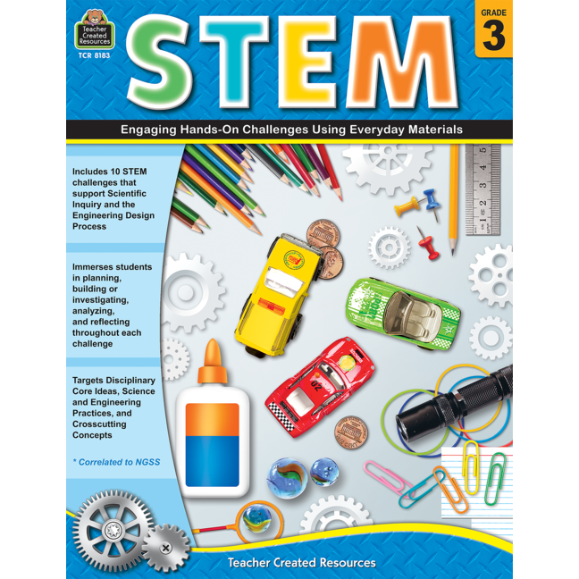 STEM: Engaging Hands-On Challenges Using Everyday Materials Grade 3