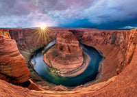 Glen Canyon Horseshoe Bend Puzzle- 1000 pieces.
