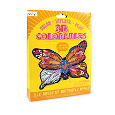 Dress Up Butterfly Wings - 3D Colorables