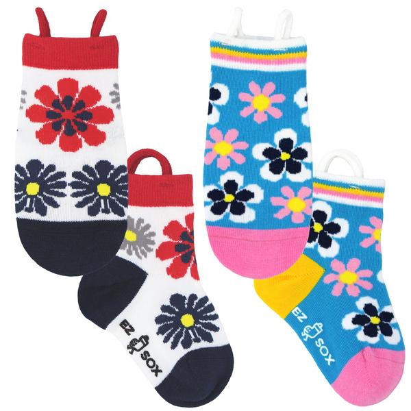 EZ Sox Age 5-9 Flowers