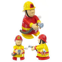 Friendly Firemen Wind up Toy