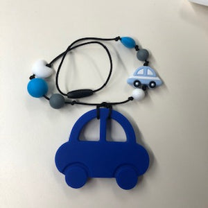 20 Inch Chewerly Necklace- Blue Car
