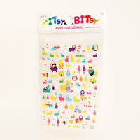 Itsy Bitsy Super Cute Stickers - Alpaca Pals