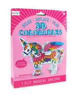 Magical Unicorn - 3D Colorables