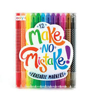 Make No Mistake Markers - Set of 12