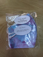 Face Mask- Purple/ Blue Tye Dye- Child( ages 5-9)