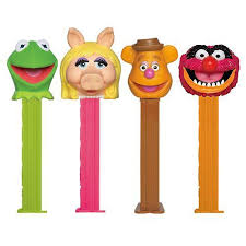 Pez Blister Muppets