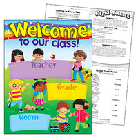 Welcome Learning Chart