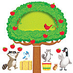 Apple Tree & Animals