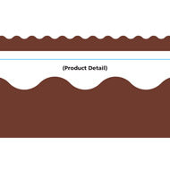Chocolate Brown Border