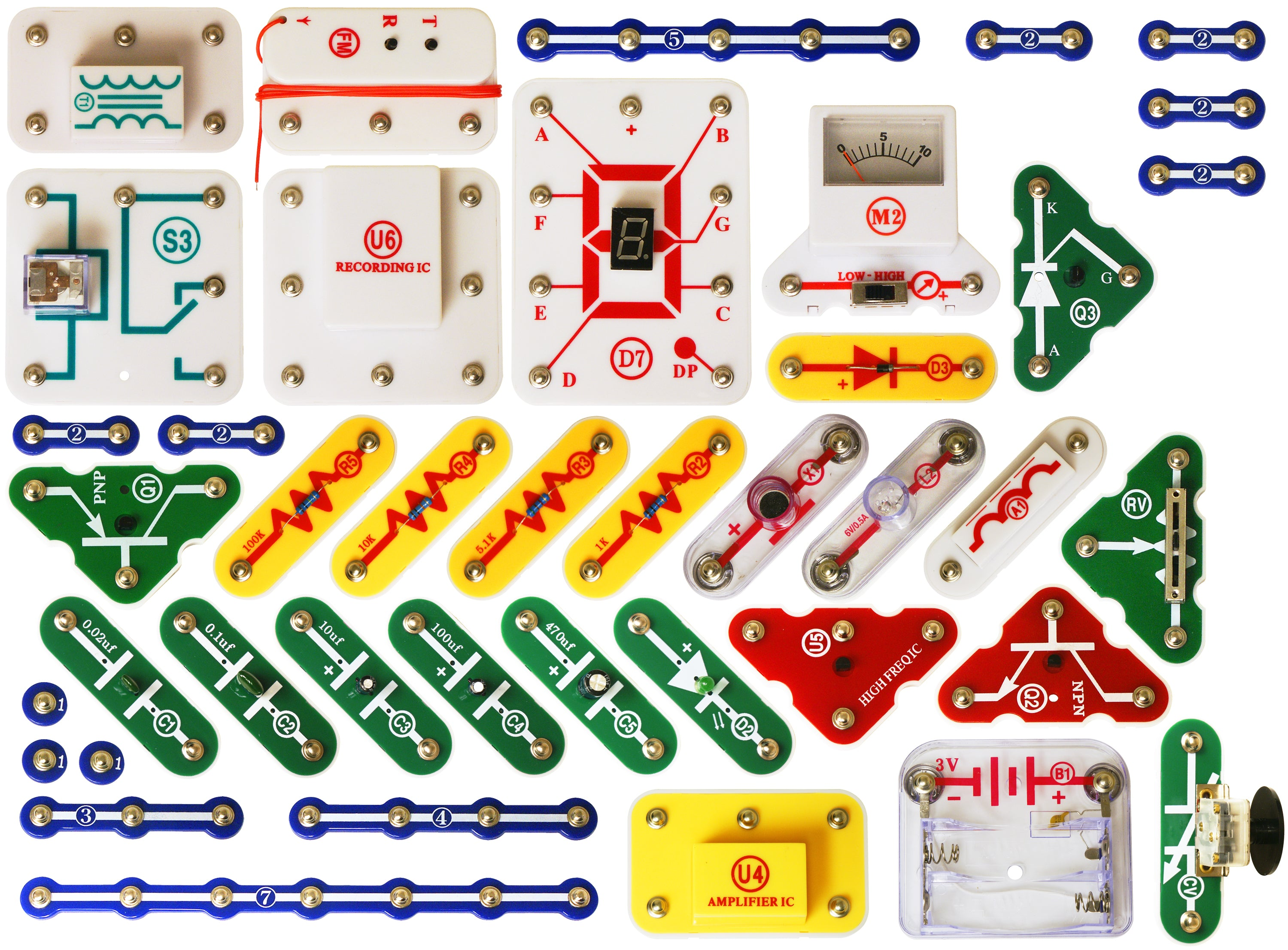 Snap Circuits Upgrade Kit Sc100 Sc500 Engaging Minds For Learning