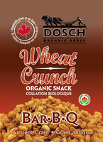 Wheat Crunch Organic Snack- Bar B Q 160g bag