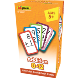 Addition Flash Cards All Facts 0-12