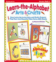 Learn the Alphabet- Arts and Crafts- Pre K-1