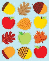 Apples Acorns & Leaves Stickers