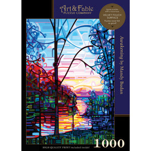 Awakening; 1000-pc Velvet-Touch Puzzle