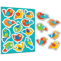 Boho Birds Stickers