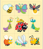 """Buggy"" for Bugs Prize Pack Stickers"