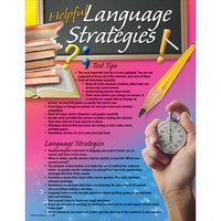 Helpful Language Strategies poster