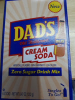 Dad's Cream Soda  Zero Sugar Drink Mix