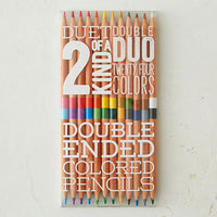 Duet 2 of a Kind Duo Colored Pencils