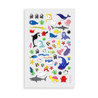 Itsy Bitsy Super Cute Stickers - Marine Friends