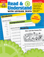 Read and Understand with Leveled Texts Grade 2