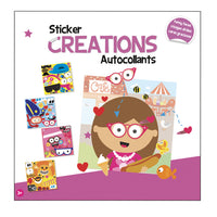 Sticker Creations -- Funny Faces