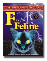 Mystery Puzzle - F for Feline