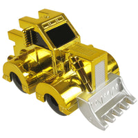 Pull Back Scoop Bull Dozer Gold
