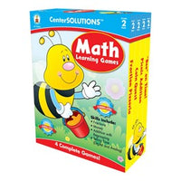 Center Solutions Math Learning Games - Grade 2