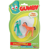 Gumby & Pokey Bendables-Mini