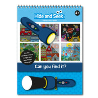 Hide and Seek Activity Book