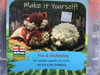 Make It Yourself! -- Fox & Hedgehog