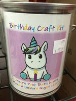 Unicorn Birthday Craft Kit