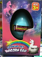 Growing Pet Unicorn Egg