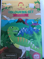 Dinosaurs Coloring Set