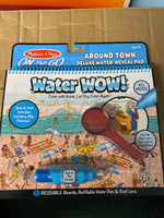 Water wow! Around town deluxe water reveal pad